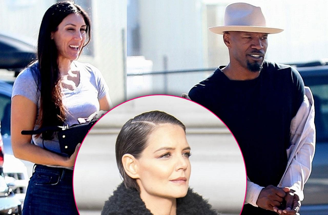 //jamie foxx sees kristin grannis without katie holmes pp
