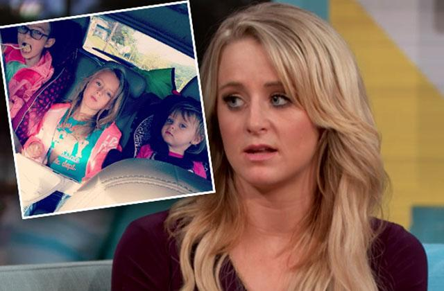 //Leah Messer Proves Daughter Doesn't Have Trouble Eating Amid Ex Husband's Accusations pp