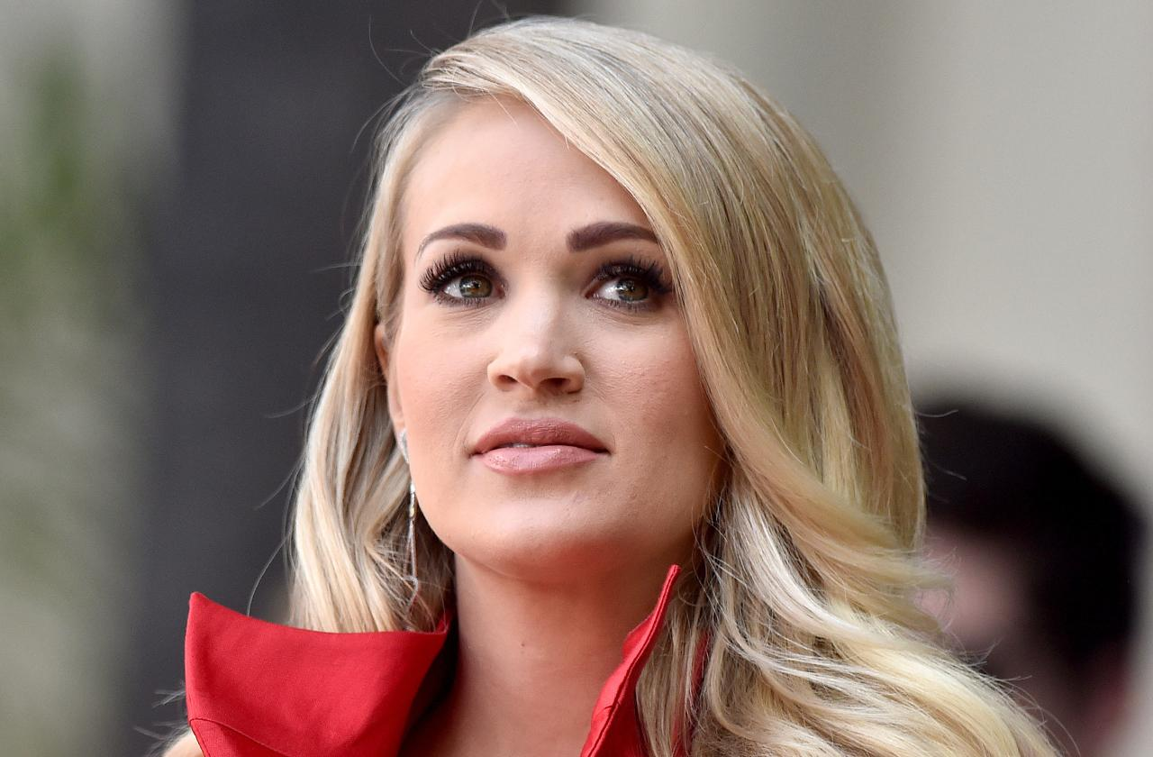 Carrie Underwood Singing Impossible Face Injury