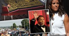 Muhammad Ali Funeral Family Laila