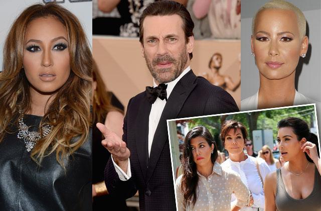 celebrities who hate kardashian family