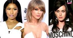 Katy Perry Taylor Swift & Nicki Minaj Feud
