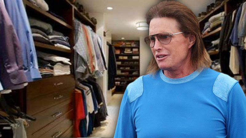 //Bruce Jenner Gets  Closet In New Malibu Mansion