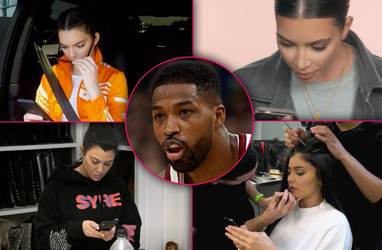 Kardashians Learn Tristan Thompson Cheating Scandal KUWTK