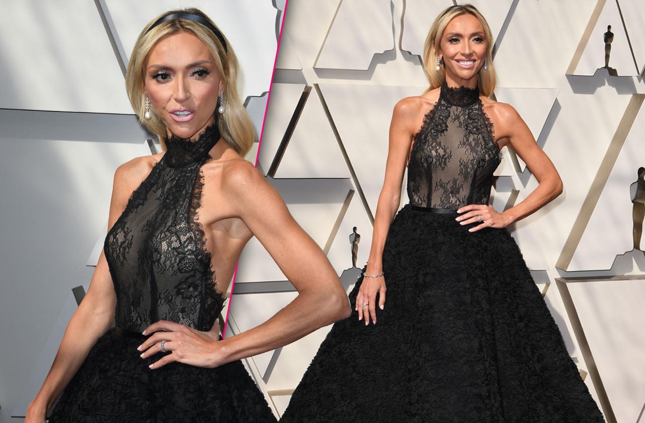 Giuliana Rancic Scary Skinny Oscars Dress