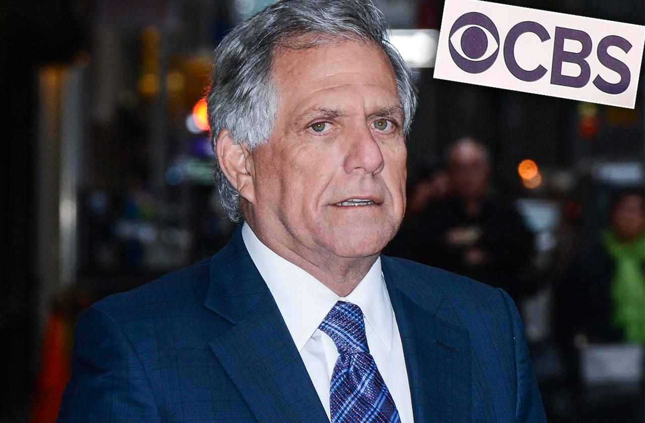 Les Moonves No Severance Fired CBS