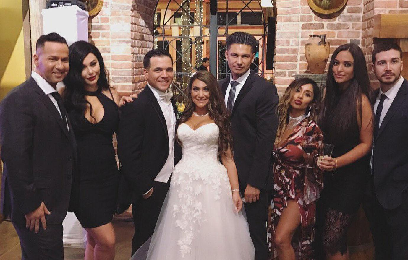 Jersey Shore Deena Cortese Gets Married Co Star Guests