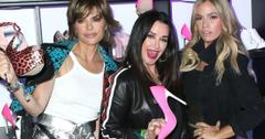 //kyle richards lisa rinna attend midnight party pp