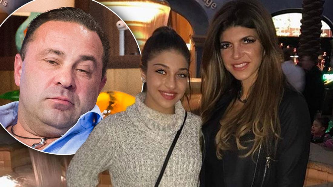 Teresa Giudice's Teen Daughter Gia Creates Petition To Stop Dad Joe's Deportation