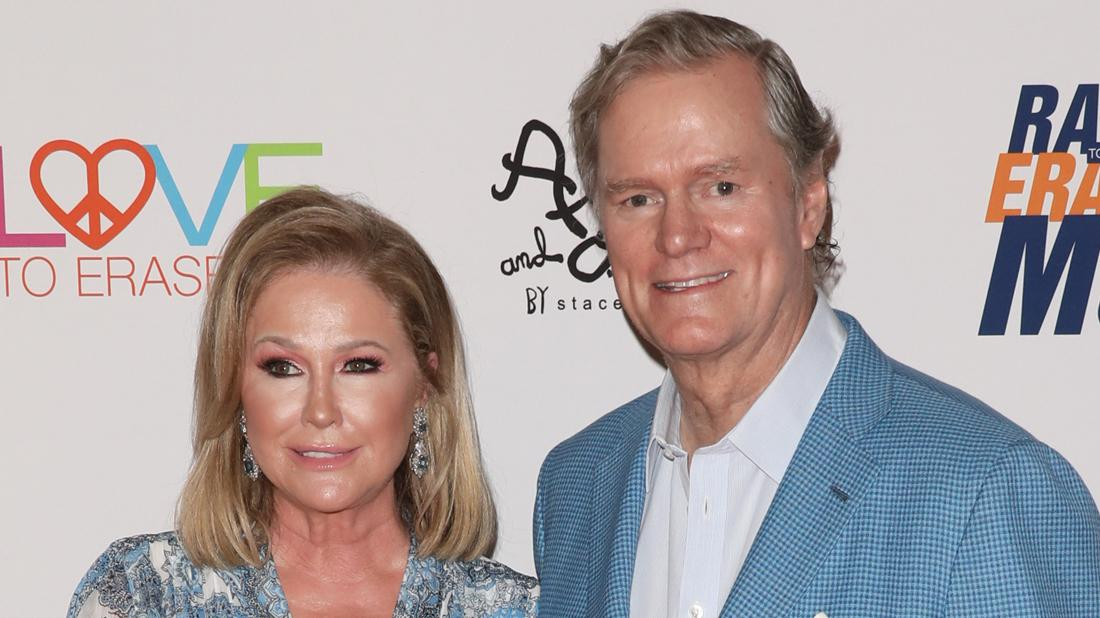 Kathy Hilton and Richard Hilton attend the 26th annual Race To Erase MS Gala.