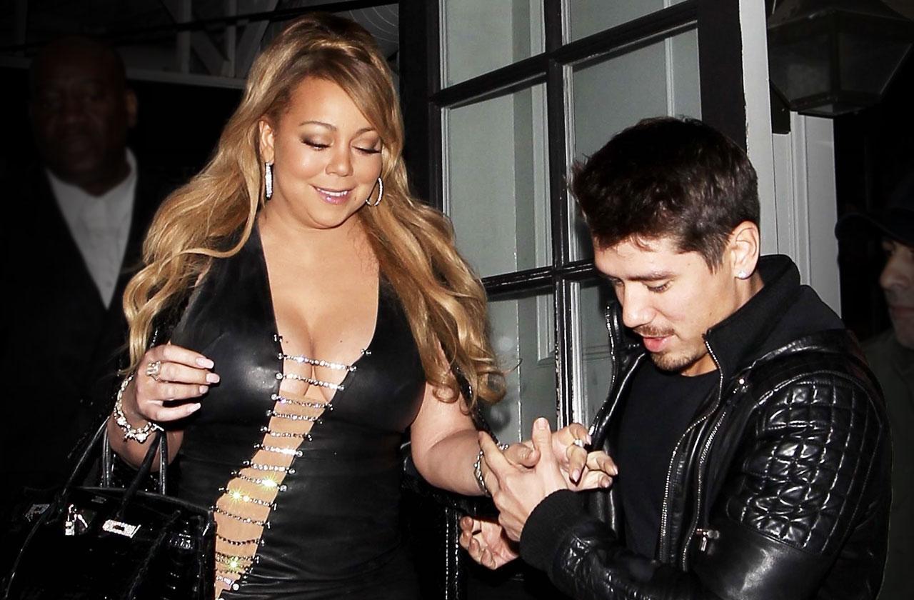 //Mariah Carey Engagement Bryan Tanaka pp
