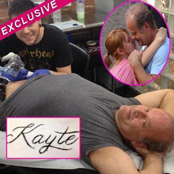 //kelsey grammer tattoo name kayte walsh
