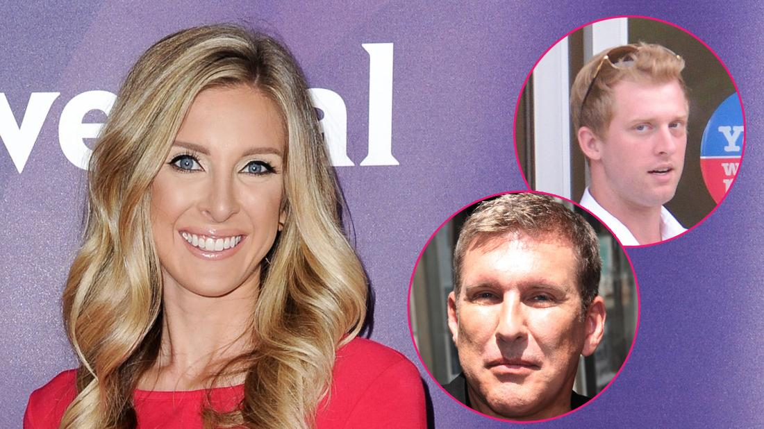 Left to Right: Lindsie Chrisley, Todd Chrisley Kyle Chrisley