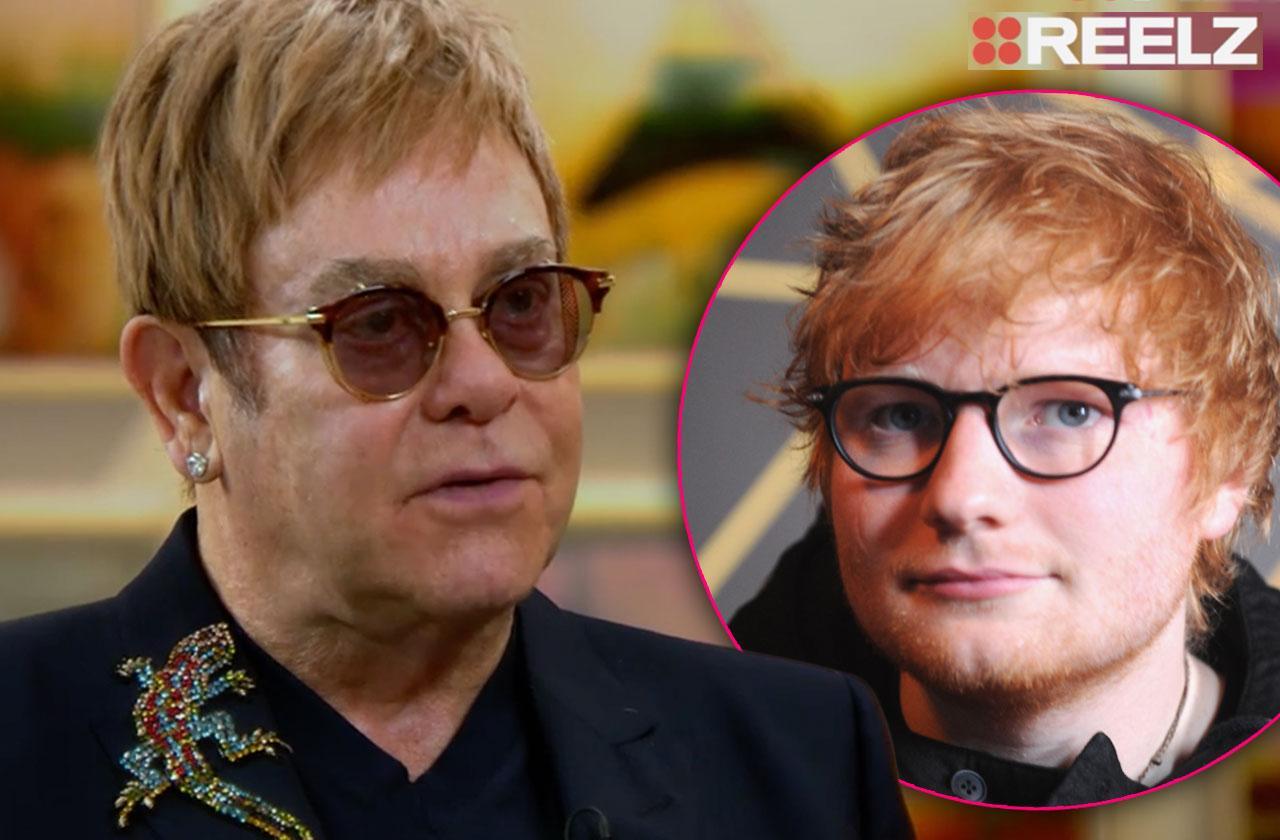 Ed Sheeran Jealous Of Elton John