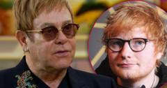 Ed Sheeran Jealous Of Elton John