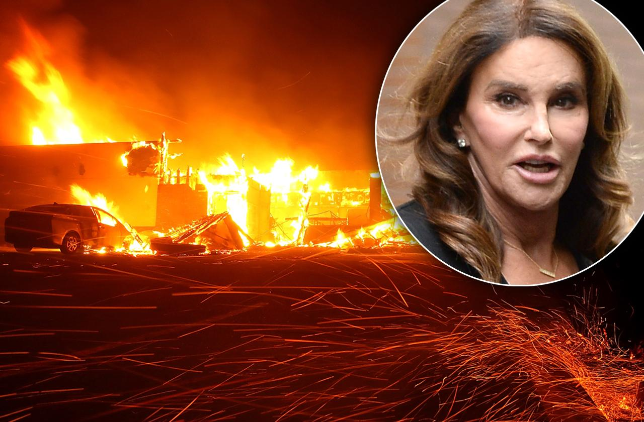 caitlyn jenner home destroyed aftermath shaken
