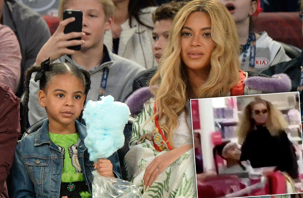 Beyonce Blue Ivy Target Shopping Video