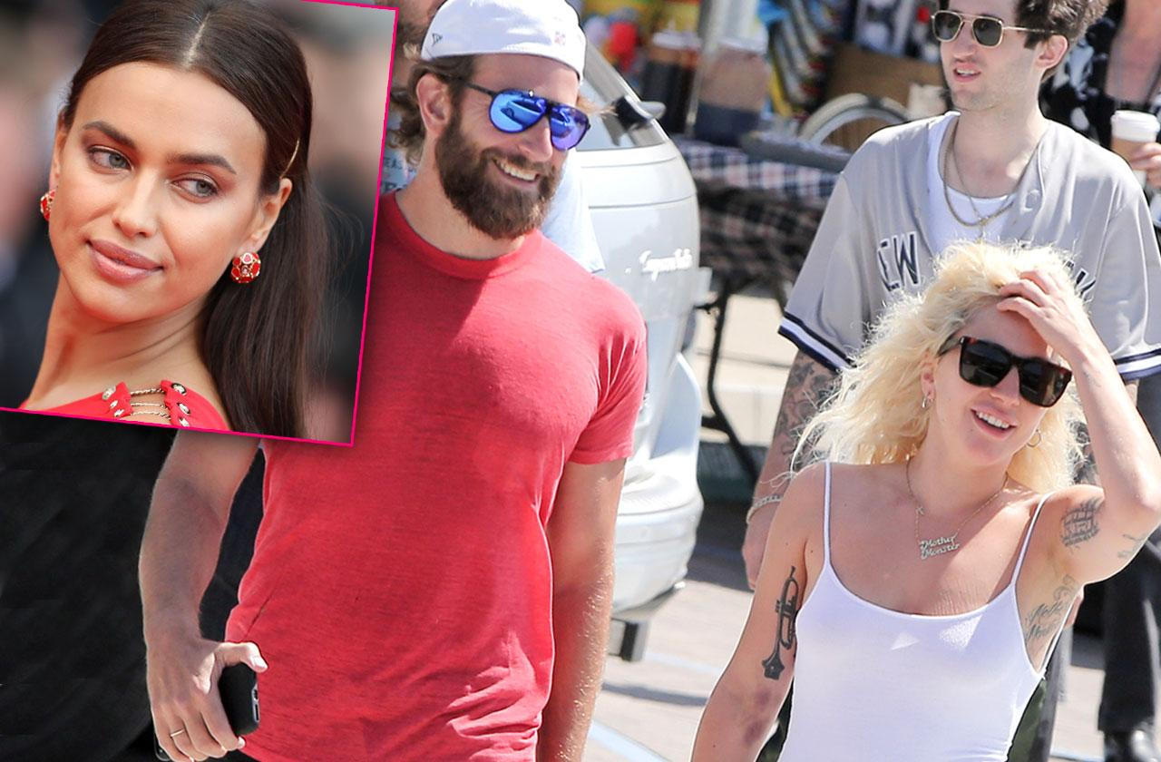 //bradley cooper irina shayk jealous co star lady gaga star is born pp