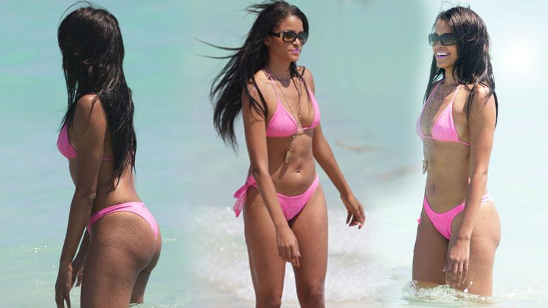 'RHOA' Star Claudia Jordan In Bikini