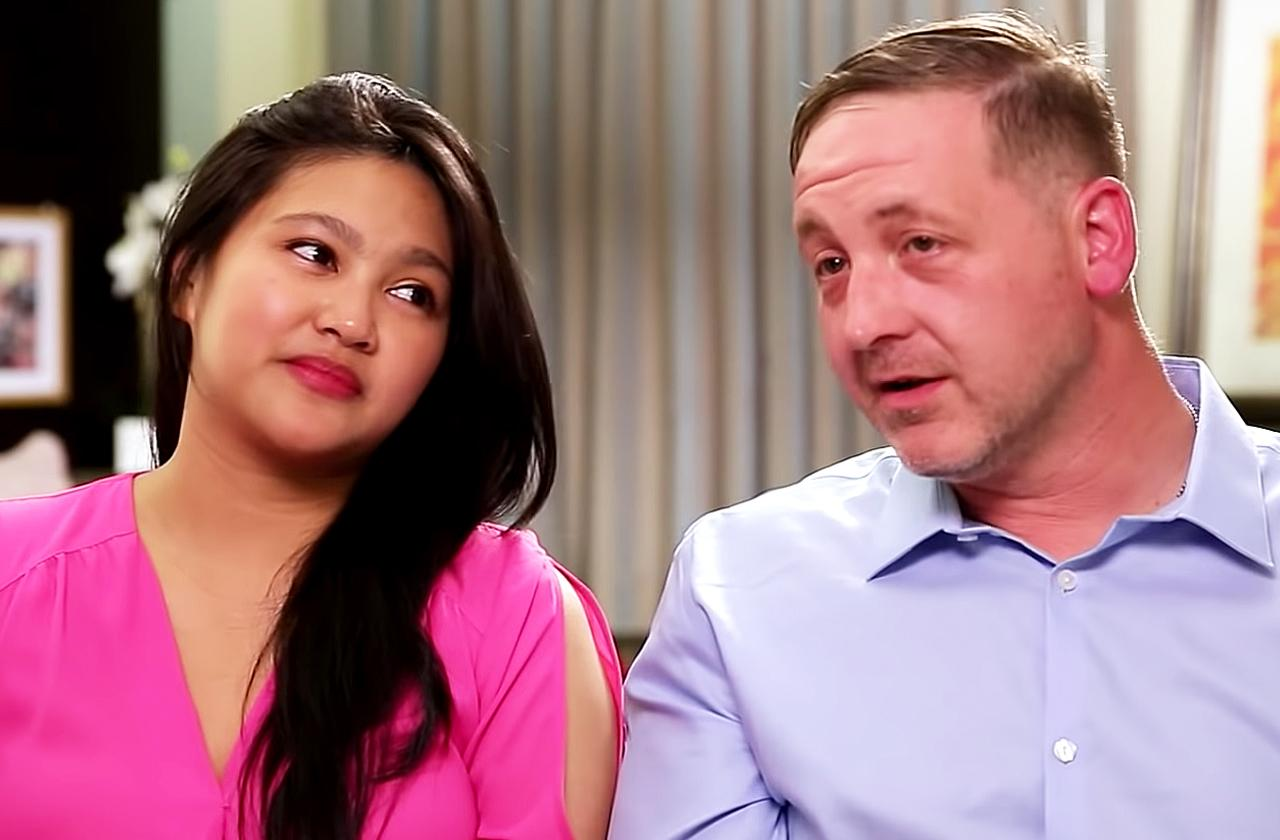 eric rosenbrook 90 day fiance estranged daughters Leida harassment
