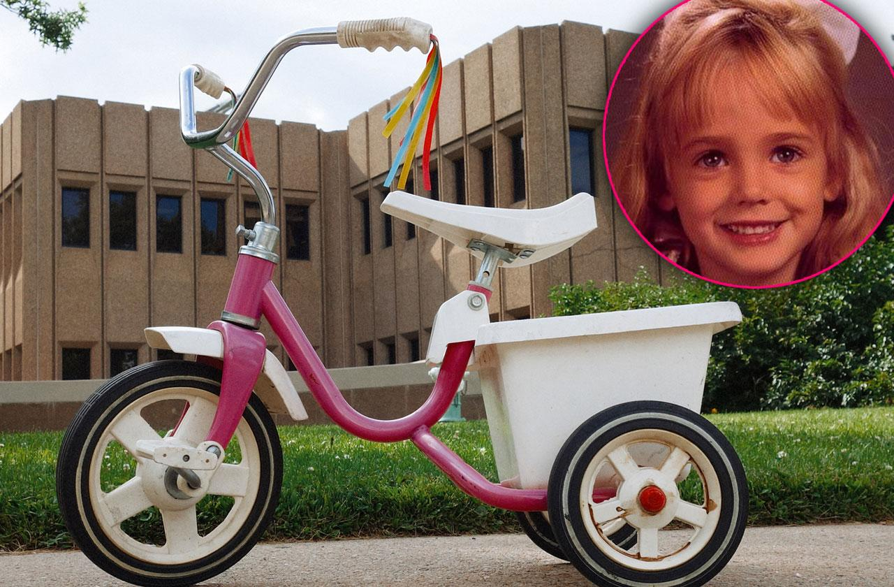 JonBenét Ramsey Memorabilia Tricycle Sale