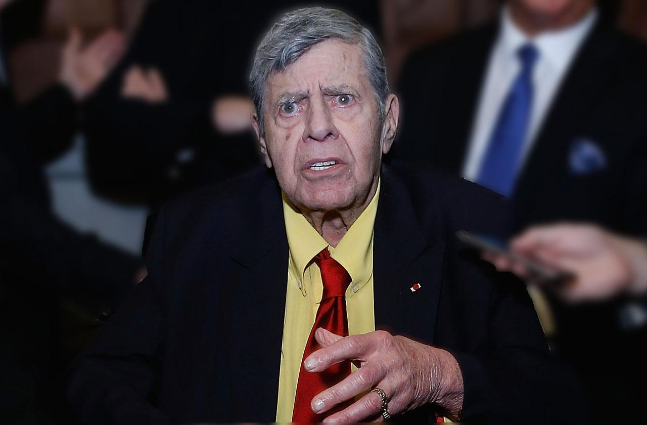 Jerry Lewis Kids Not In Will