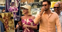 Katy Perry And Orlando Bloom In Rome To Attend Wedding Alongside Meghan Markle