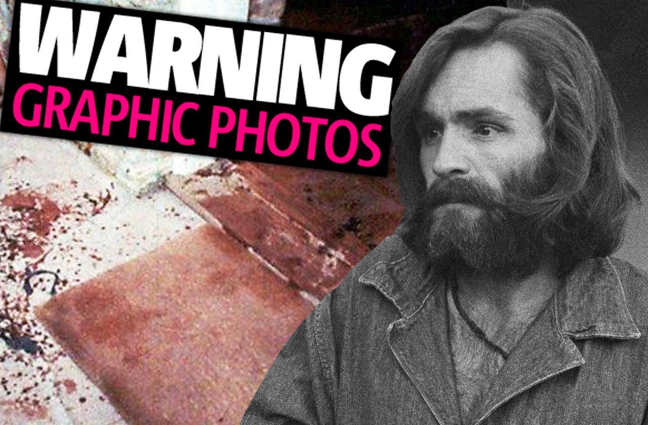 //Charles manson dead crime scene photos pp