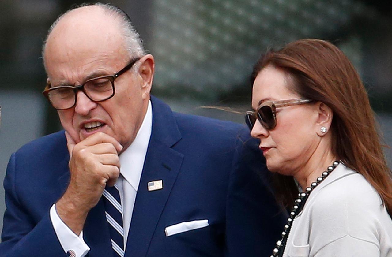 rudy giuliani divorce scandal last dinner