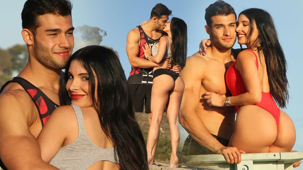 Mayra Veronica and Samuel Asghari
