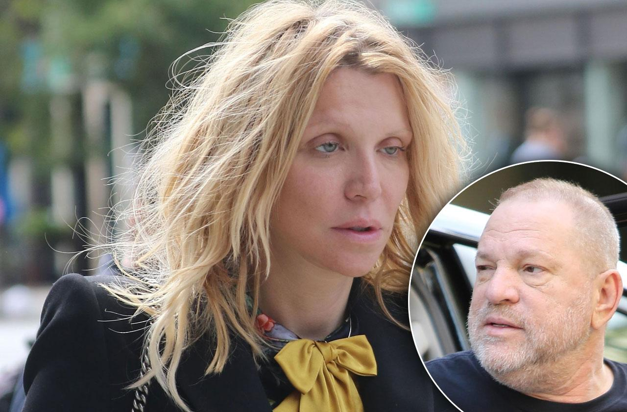 //courtney love warned women about predator harvey weinstein in  pp