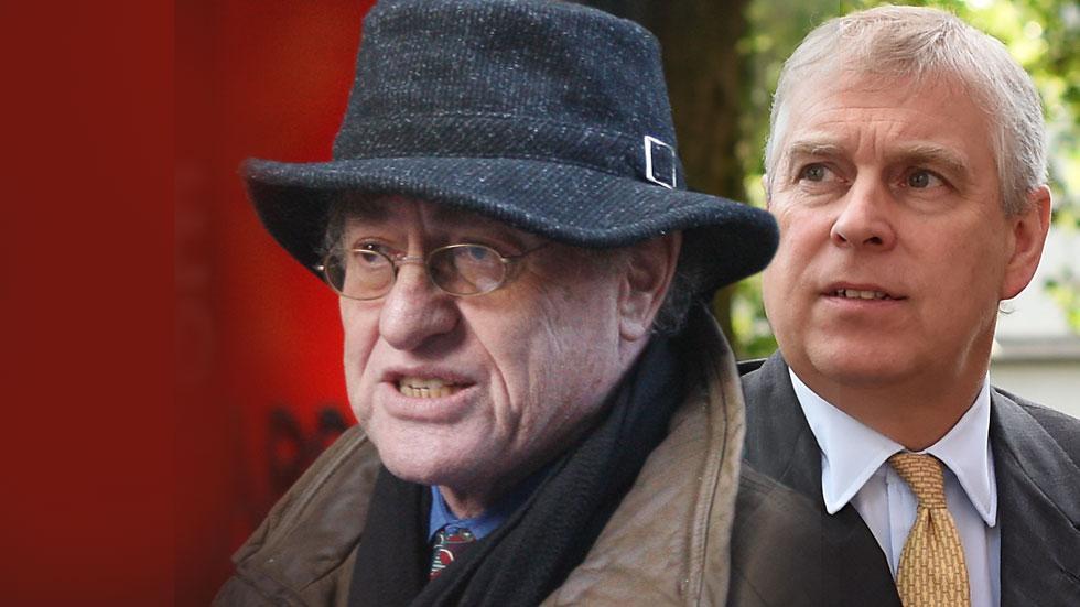 Alan Dershowitz Prince Andrew Accuser