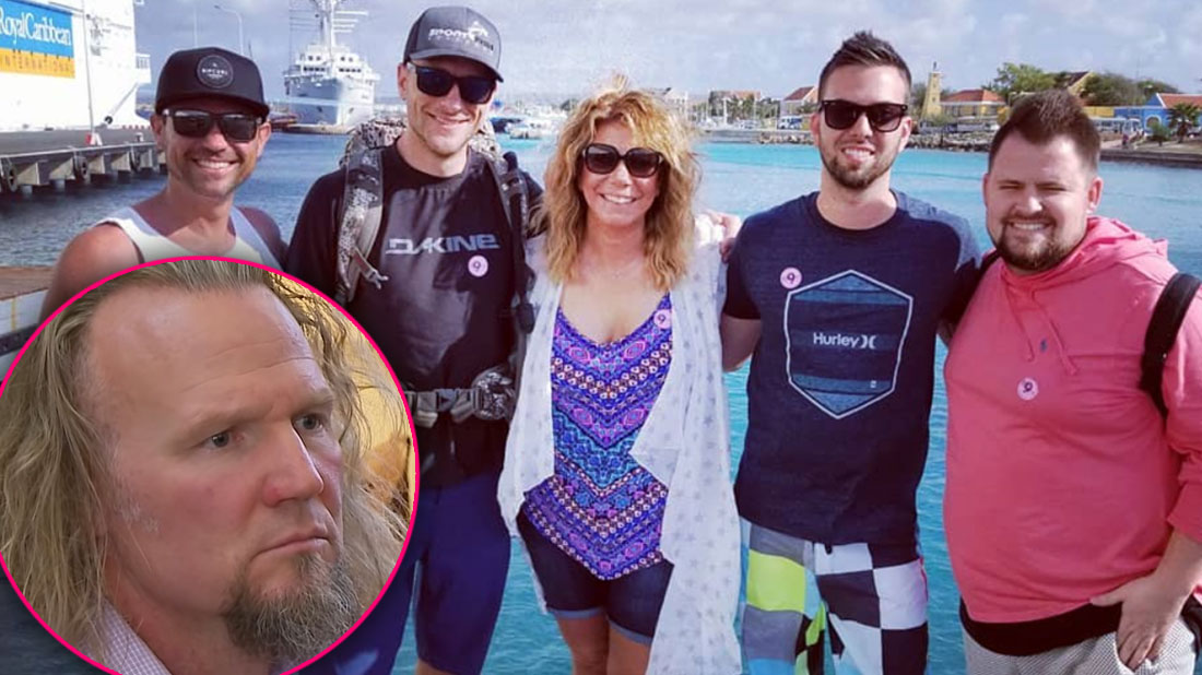 Look Away, Kody! Meri Brown Cozies Up To Other Men On Getaway Amid Marital Issues