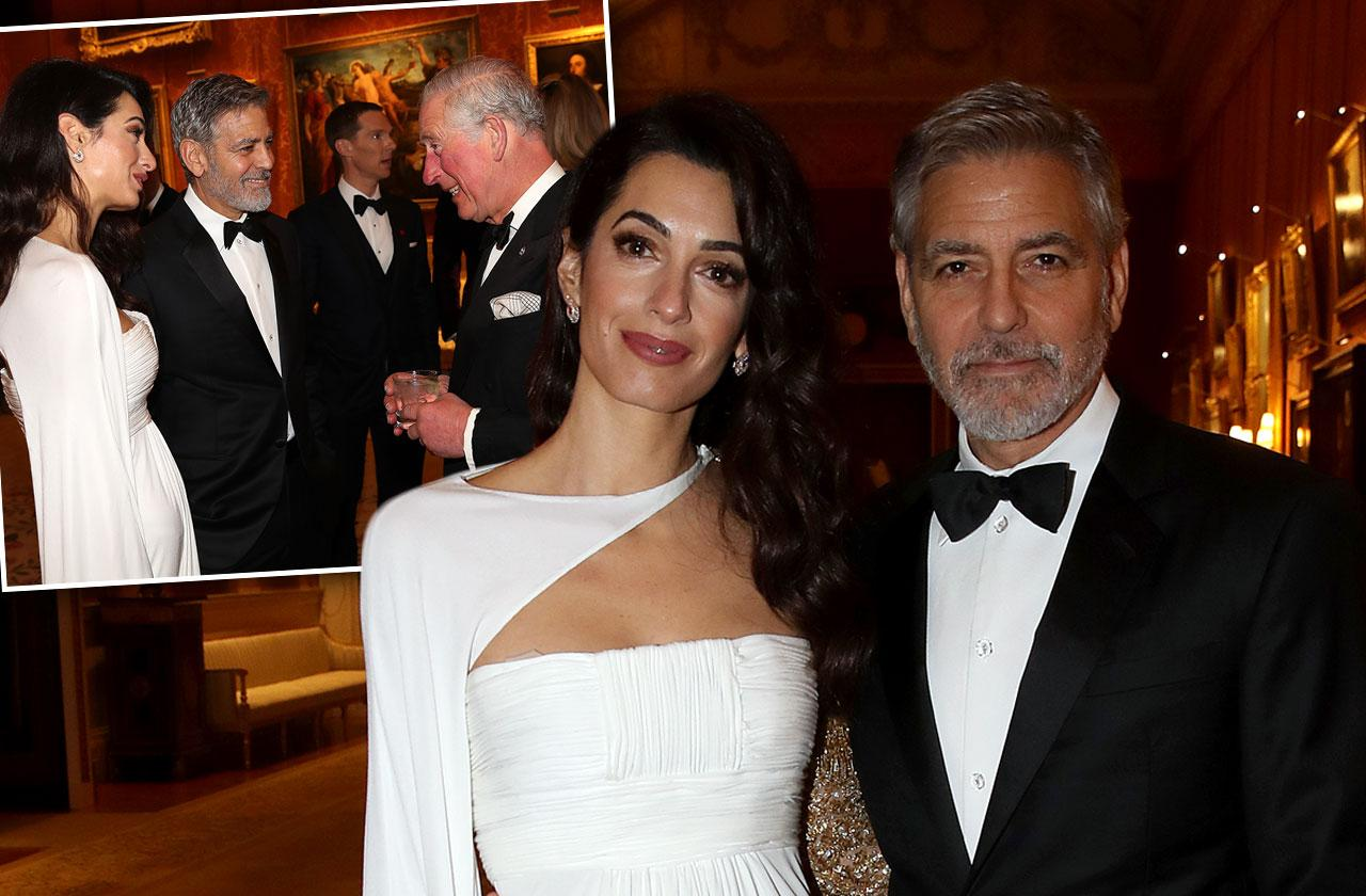 Amal George Clooney Buckingham Palace