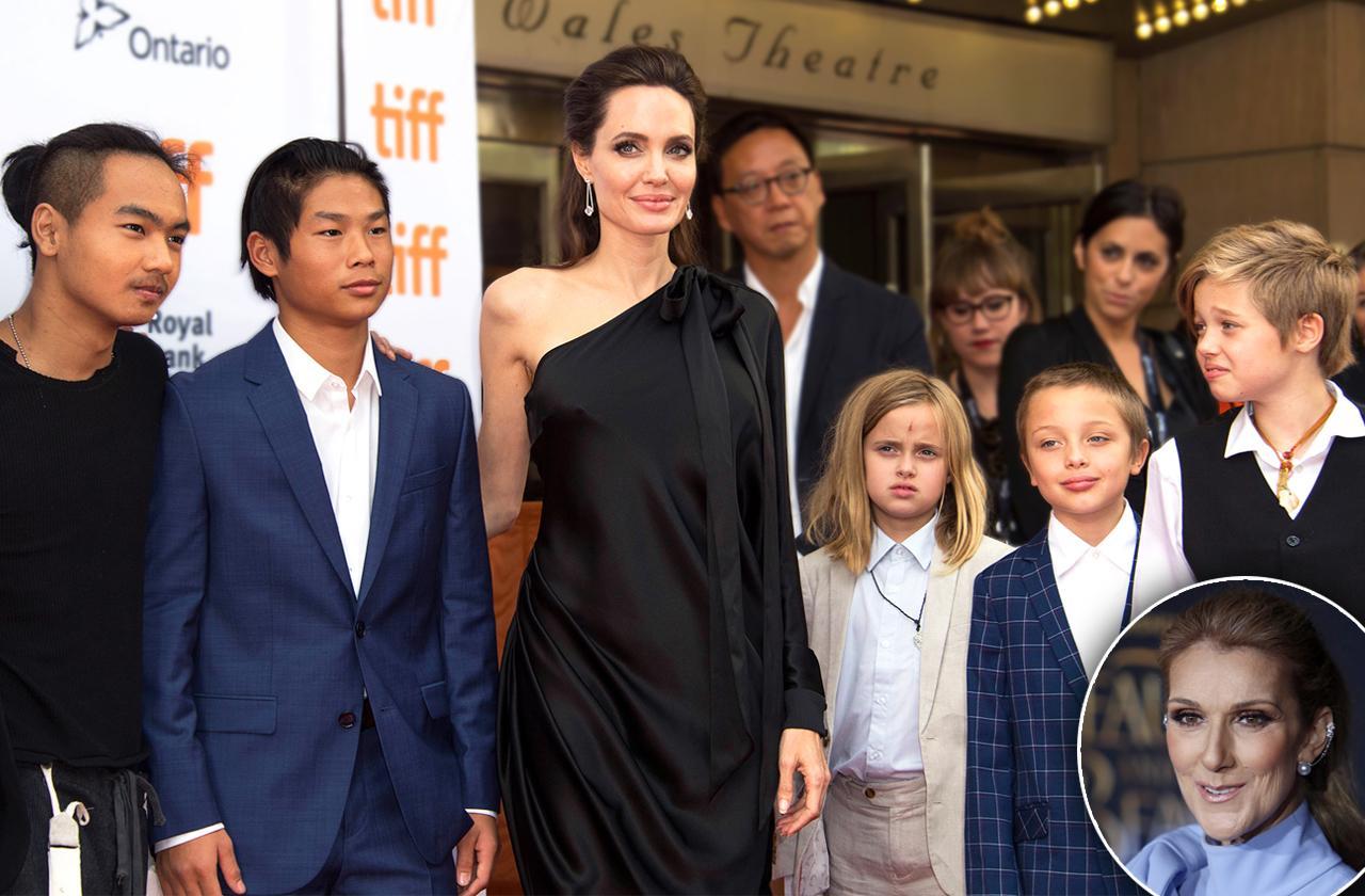 Celine Dion Styles Angelina Jolie Kids Gender-Neutral Clothes