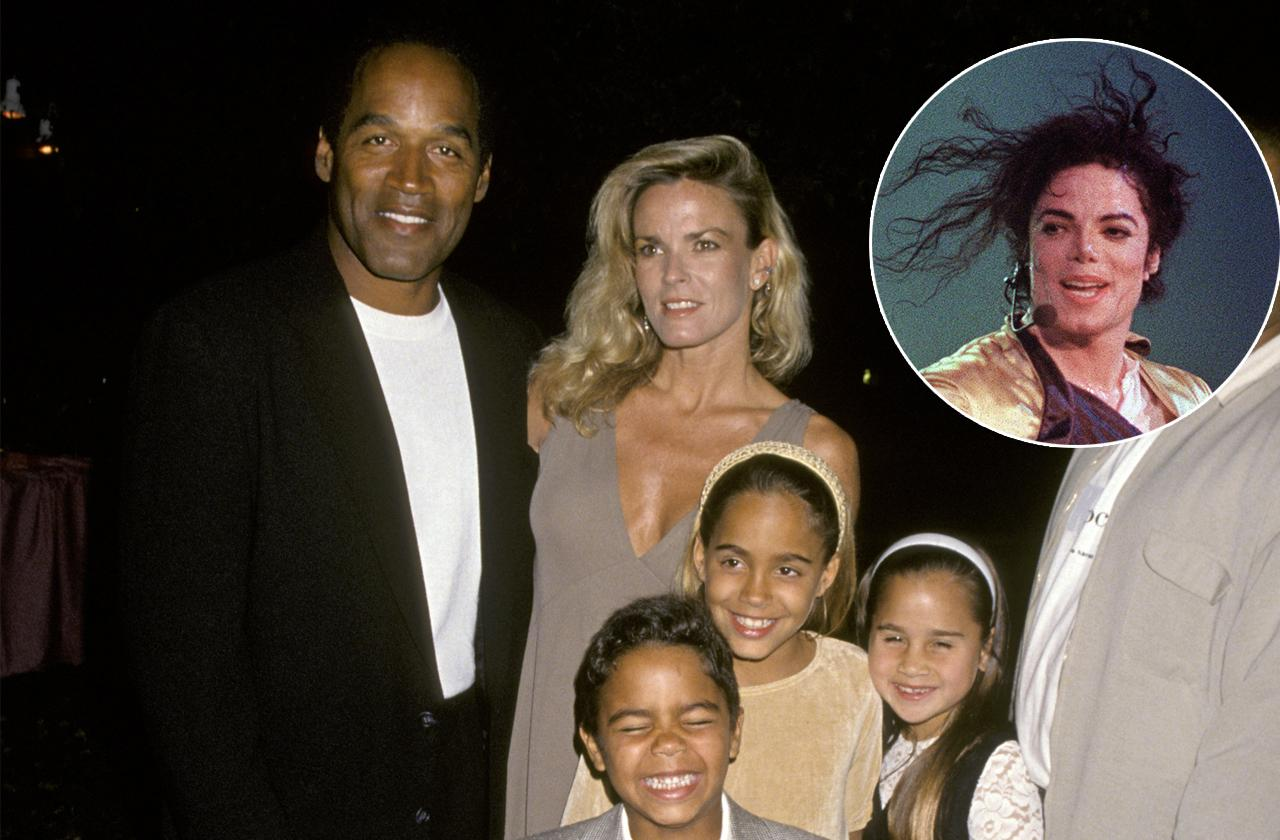 //oj simpson given neverland pass michael Jackson pp