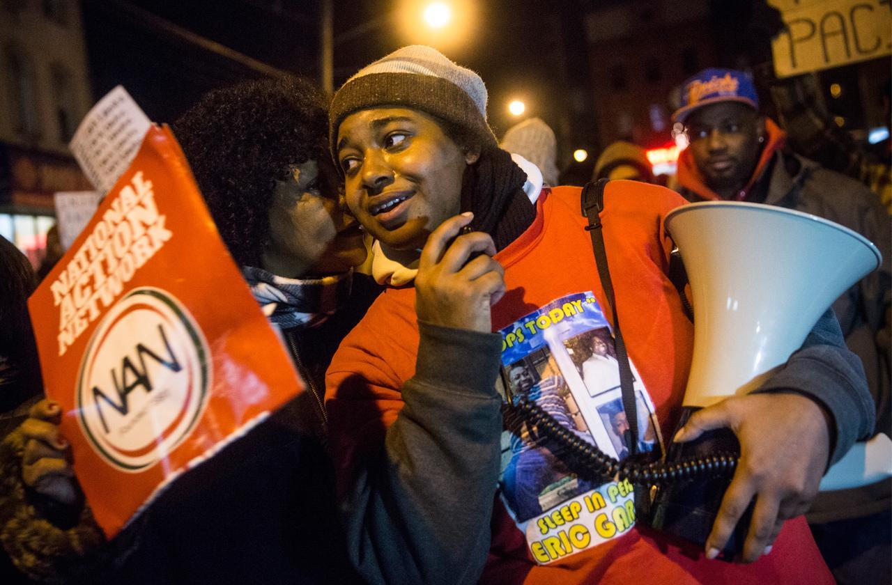 //erica garner civil–rights activist dead pp