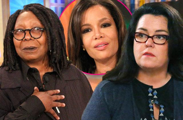 //the view rosie odonnell whoopi goldberg went to war host sunny hostin pp