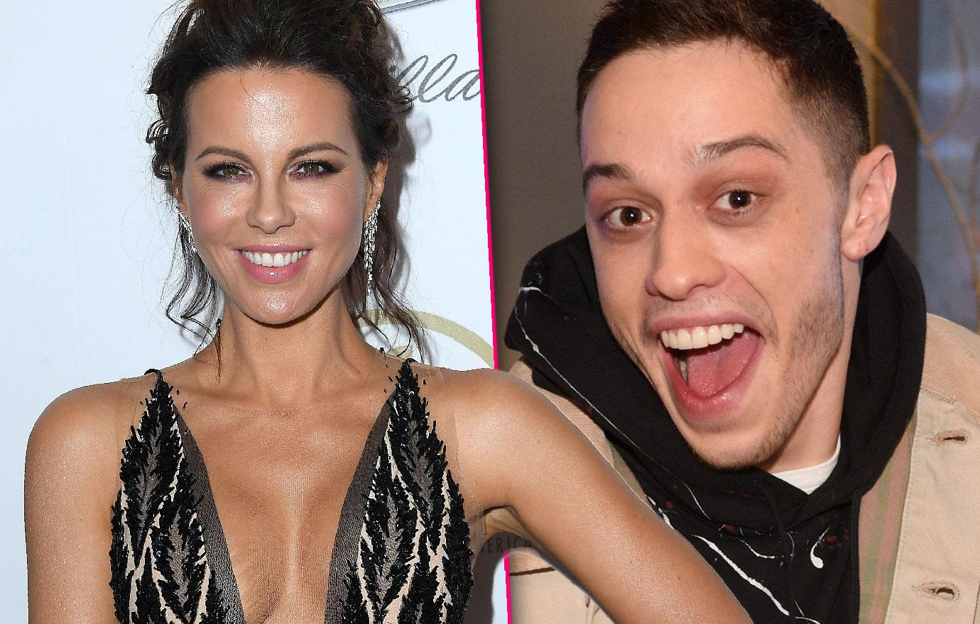 Kate Beckinsale Is Into Comic Pete Davidson