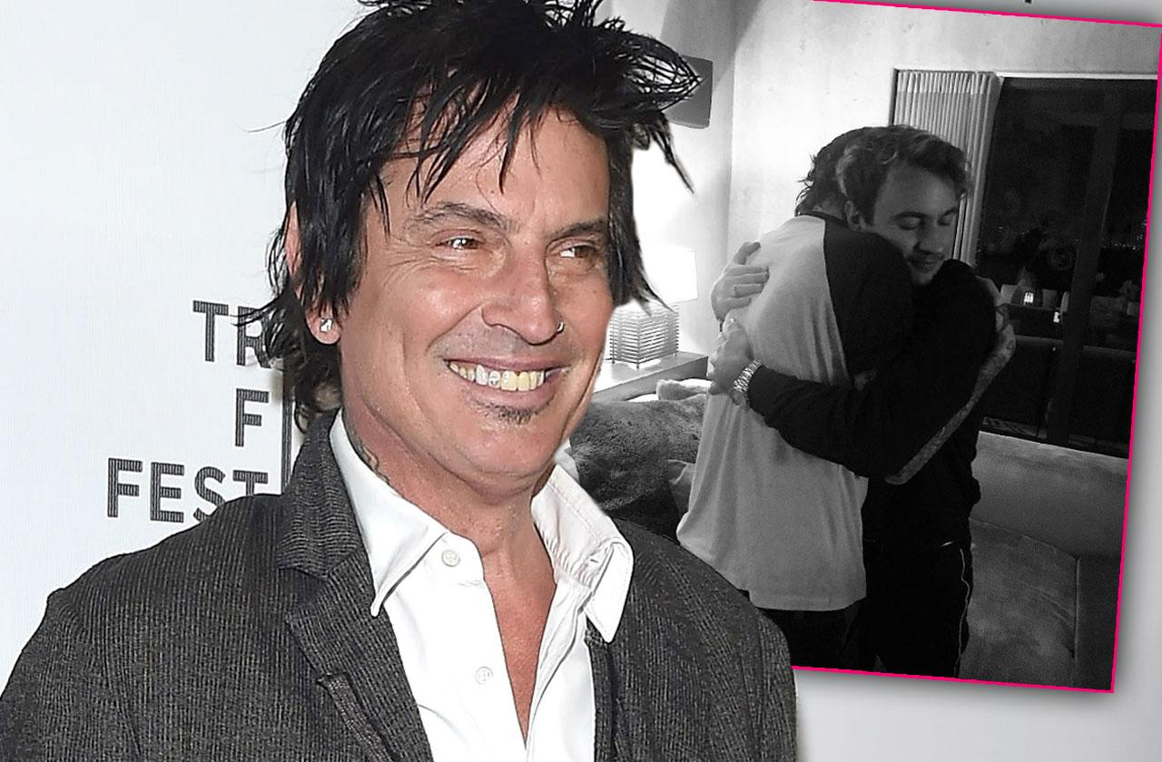 Tommy Lee Reconciles Son Brandon Nasty Fight