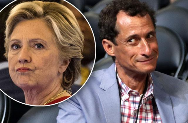 anthony weiner sexting investigation clinton camp