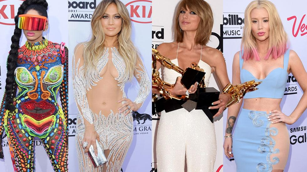 billboard music awards 2015 best worst dressed