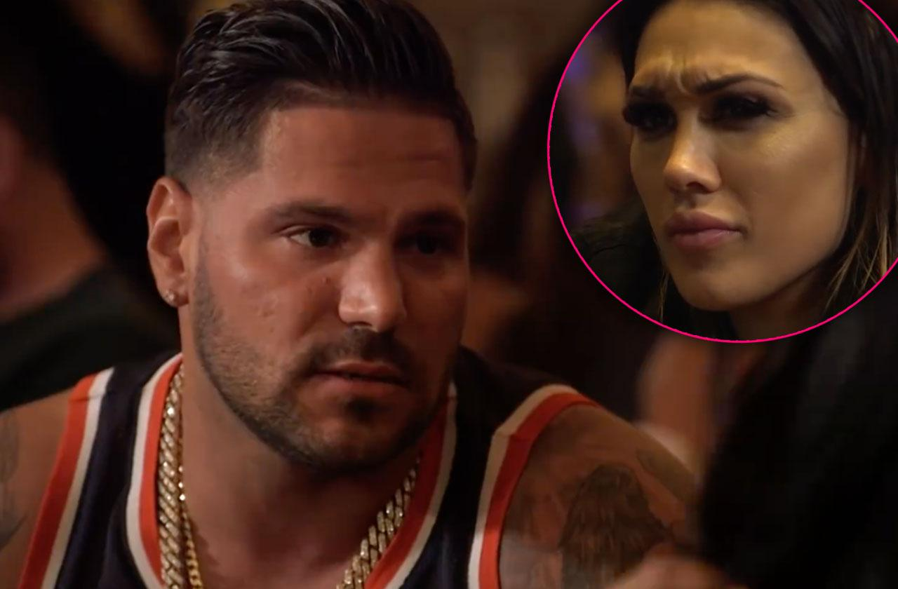 Ronnie Ortiz-Magro Apologizes Jen Daughter Jersey Shore