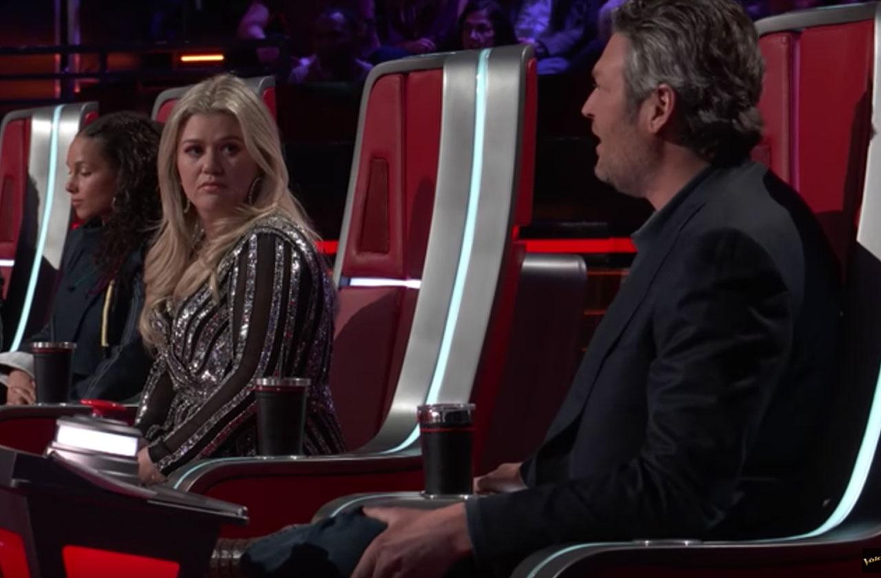 The Voice Blake Shelton Kelly Clarkson Feud