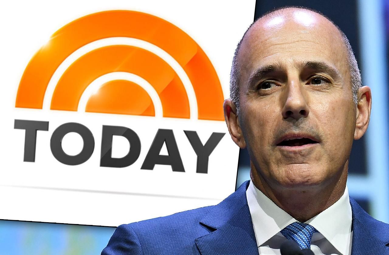 today show Christmas party somber Matt Lauer sexual harassment scandal