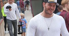 Chris Pratt Takes Son Jack To Church