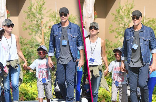 Sandra Bullock Boyfriend Bryan Randall Family Day Son Louis