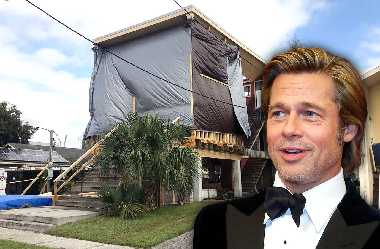 //brad pitt make it right foundation damaged houses new orleans PP