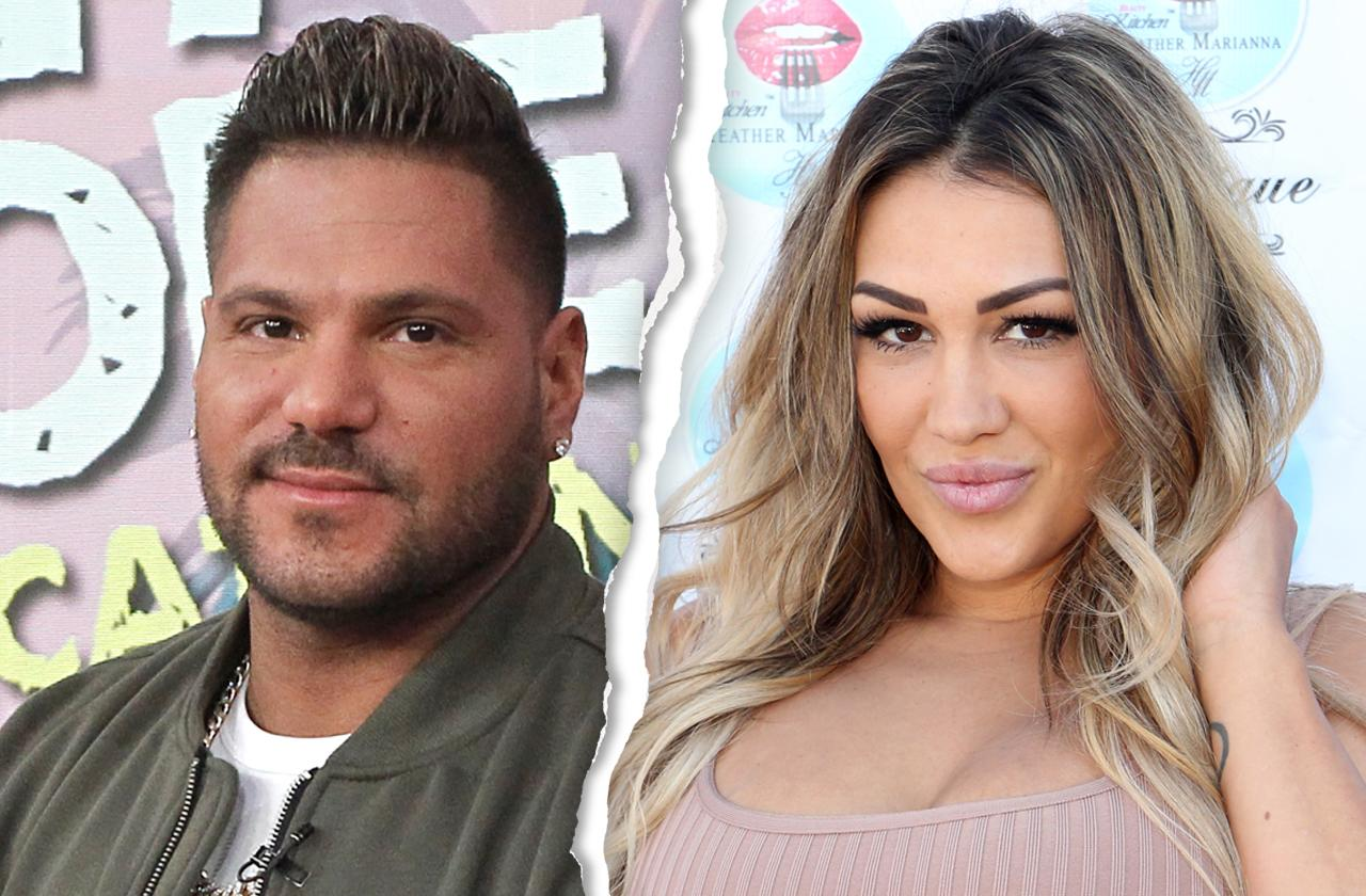 Ronnie Ortiz Magro split jen harley nasty holiday fight