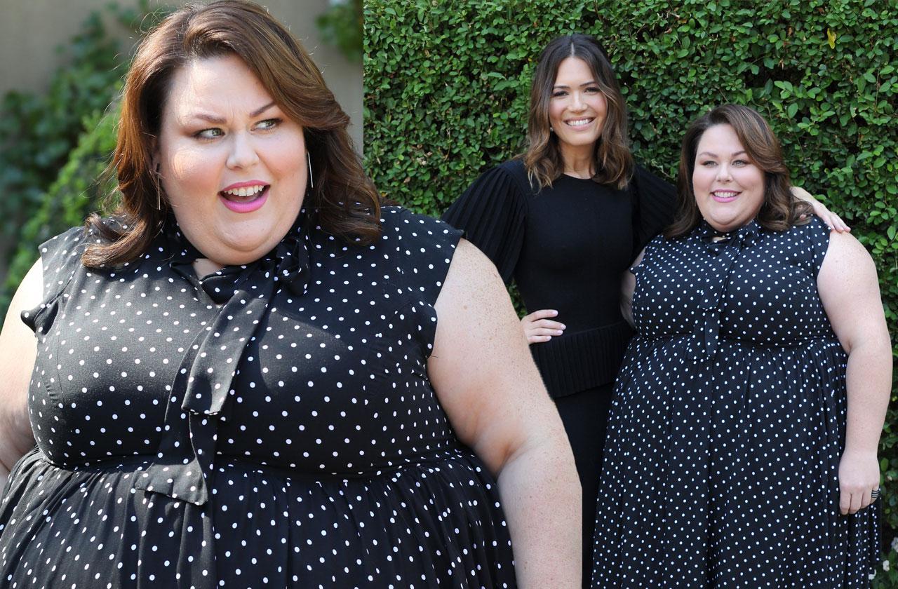 //Chrissy Metz polka dot dress pp